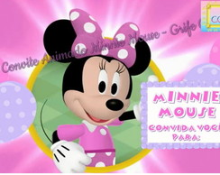 Convite Animado Minnie Mouse