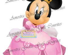 Arte Digital Minnie Princesa