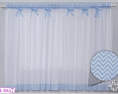 Cortina Chevron cortina Bebe Quarto,Sala
