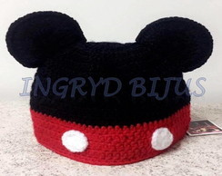 TOUCA/ GORRO NEW BORN DO MICKEY