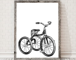 poster Bike Triciclo 272 30x40