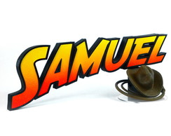 INDIANA JONES - Logo personalizado