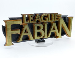 League of Legends - Logo Personalizado