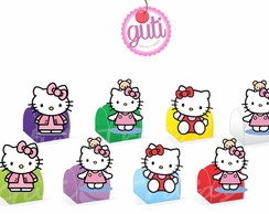 Forminha personalizada - Hello Kitty