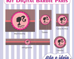 Kit Digital Barbie Paris