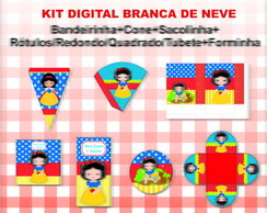 Kit Branca de Neve - Digital