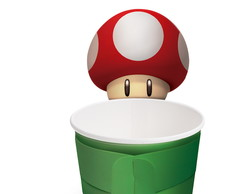 Copinho 100ml - Super Mario