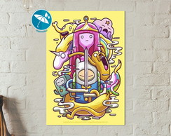 Poster Placa Adventure time