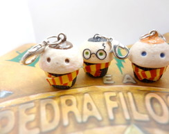 Chaveiro de cupcake de Harry Potter