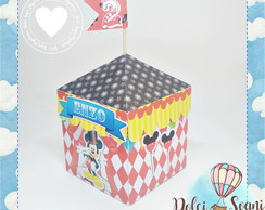 Caixa tenda circo do Mickey