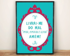 poster Livrai me do mal 431 30x40