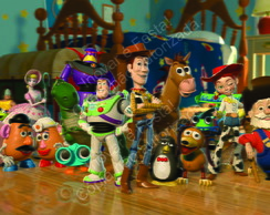 Painel Toy Story - 2,30 x 1,40