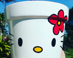 Vaso Hello Kitty Florzinha