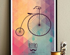 poster Retro Bicycle 452 30x40