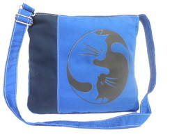BAG Shades of Blue Ying Yang