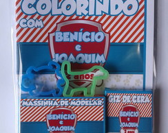 Kit Colorir + Massinha Patrulha Canina