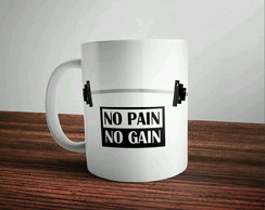 Caneca No Pain No Gain 2