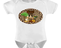 BODY INFANTIL - MICKEY SAFARI