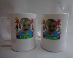 Caneca de 300ml Backyardigans com Foto