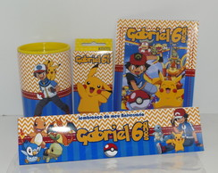 Kit Pintura Pokemon