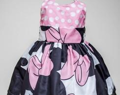 Mini mouse vestido rosa