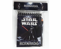 Bloquinho Star Wars Darth Vader