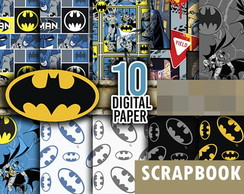 Kit scrapbook digital Batman