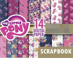 Kit scrapbook digital My Little Poney