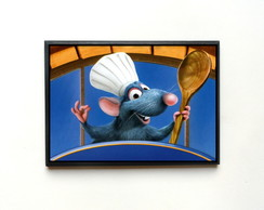 Quadro Ratatouille Remy Chef