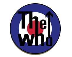Quadro redondo The Who