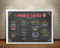 ARTE DIGITAL CHALKBOARD PIQUENIQUE