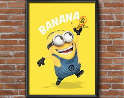 Poster Minnion Banana