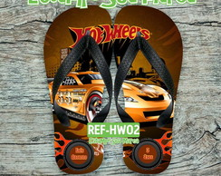 Chinelo Hot Wheels