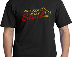 Camisetas series ligue para o saul
