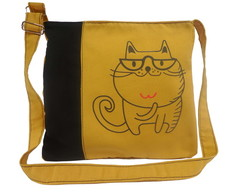 BAG YELLOW FANNY CAT ONE