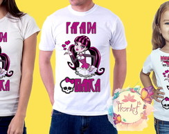 3 Camisetas Monster High