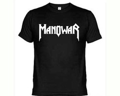 Camisetas Bandas Rock Manowar