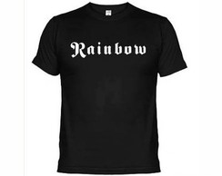 Camisetas Bandas Rock Rainbow