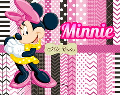 Kit Papéis Minnie 10