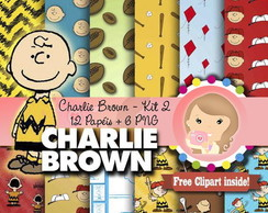 Kit Digital Scrapbook CHARLIE BROWN kit2