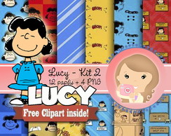 Kit Digital Scrapbook LUCY (Snoopy) kit2
