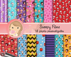 Kit Digital Scrapbook SNOOPY Filme