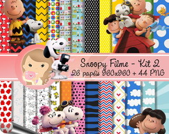 Kit Digital Scrapbook SNOOPY Filme 2