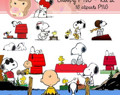 Kit Digital Scrapbook SNOOPY (PNG) 2