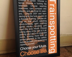 Quadro Trainspotting [exclusivo]