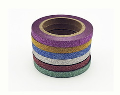 Kit 3 - Washi Tape com Glitter - arW000486