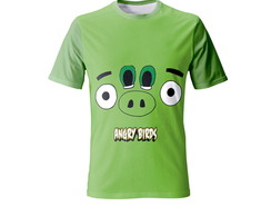 Camiseta Angry Birds - Infantil