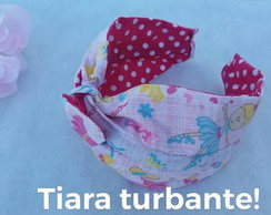 Tiara turbantes dupla face