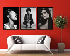 Posters retro Amy Winehouse Billie Holiday Nina Simone
