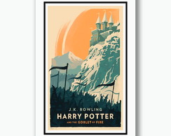 Quadro Harry Potter Filme Fv Minimalista